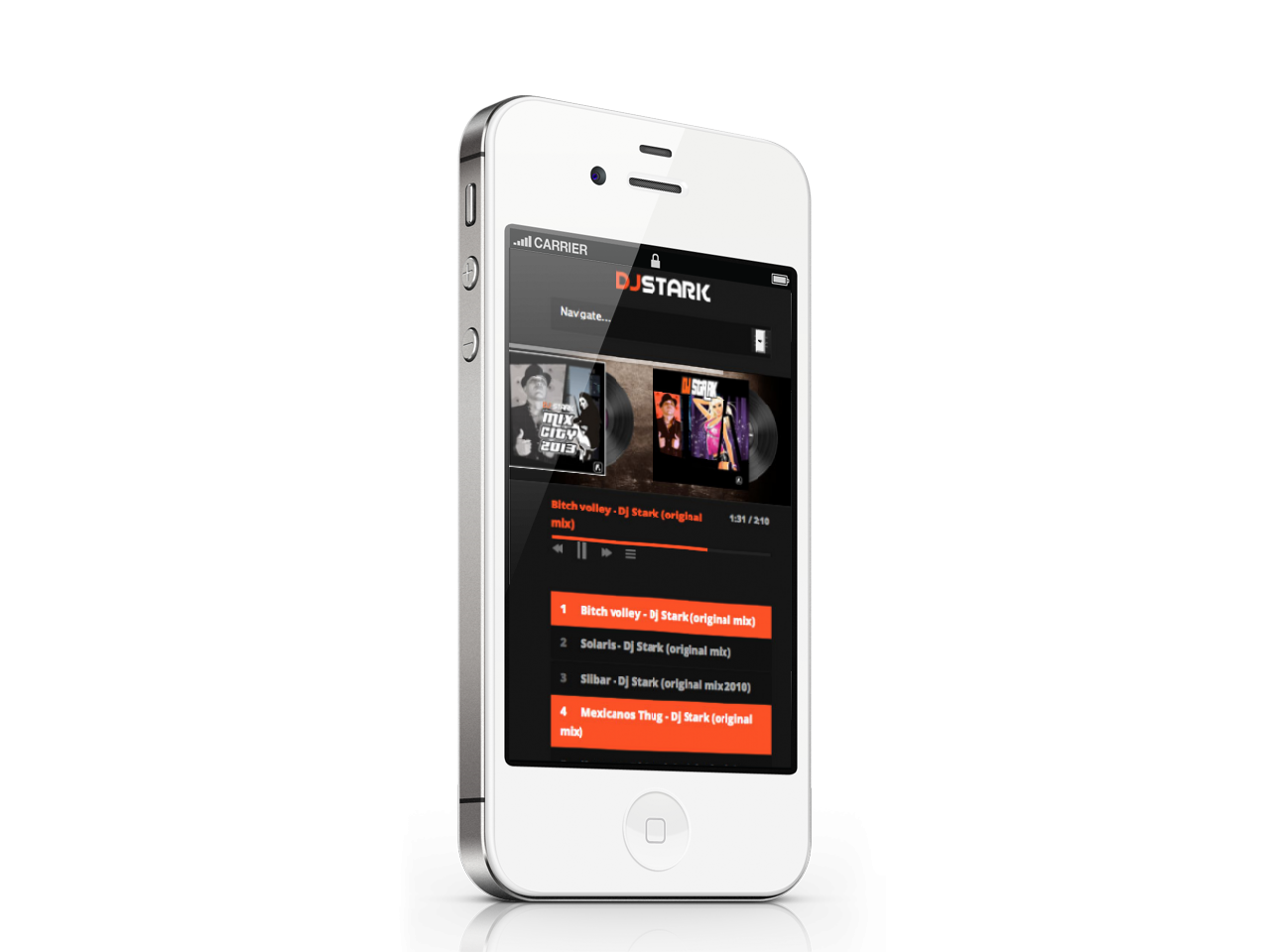 Site en Version iPhone 4s